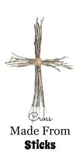 Easter Decorations Using Twigs by 25 Best Cross Decorations Ideas On Pinterest Rustic Burlap