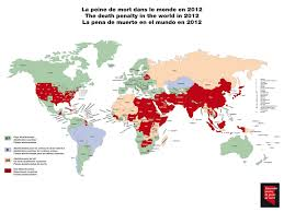 Death Penalty States Map by Delivering Data