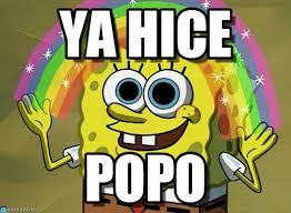 Popo Meme - ya hice imagination spongebob meme on memegen
