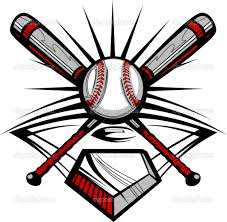bats images clip art softball with flames clip art baseball or softball crossed bats