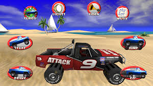 monster trucks racing games pickup truck race offroad kids android apps on google play