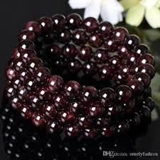 garnet gemstone bracelet images Best carnet stone natural semi precious stone bead jewelry jpg