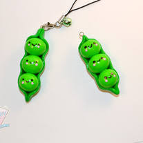 peas in a pod charm miss kirakira handmade kawaii accessories a place for all