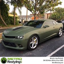 3m scotchprint series 1080 m26 matte military green vinyl wrap