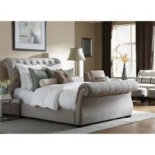 Grey Sleigh Bed Grey Sleigh Bed Bonners Furniture