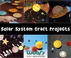 Craft Project Ideas For Kids - solar system models and solar system projects