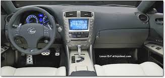2007 Lexus Is250 Interior Lexus Is F