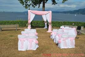 Chuppah Rental Vancouver Wedding Decor U0026 Party Rentals Rose Music Chair Covers