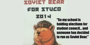 Running Bear Meme - soviet bear is running for student counsel 17 pics weknowmemes