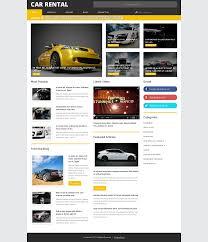lexus car website website design 54849 car rental auto custom website design car