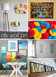 remarkable ideas diy wall decor projects plush design spring diy