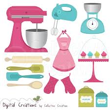 the kitchen clipart kitchen stuff pencil and in color the