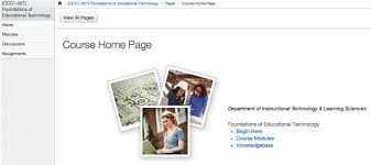 Design Home Page Online E Learning Blog Leverage The Lms For Online Student Retention