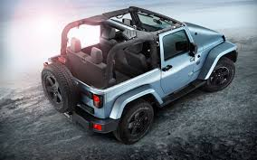 jeep wrangler unlimited sport top off icy cool 2012 jeep wrangler arctic edition launches in europe