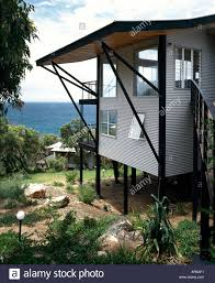 sea eagle beach house on stilts australia exterior architect