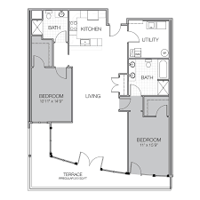 what is wh in floor plan apartment floor plan w mosaic on oakland luxury apartments