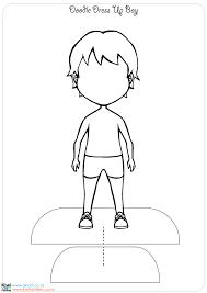 boy paper doll template eliolera com