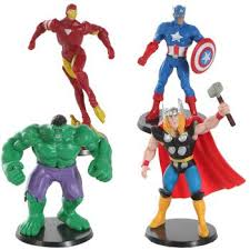 marvel cake toppers marvel miniature alliance cake toppers toys