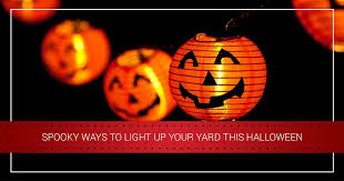 halloween lights spooky ways to light up your yard this halloween