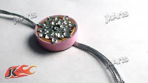 diy paper quilling coil rakhi for raksha bandan jk arts rakhi