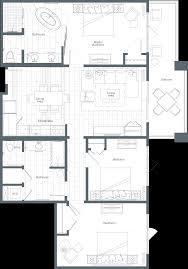 contemporary resort floor plan one bedroom premium villa the westin nanea ocean villas