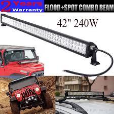 Light Rack 42 Inch Led Light Bar 240w Combo Offroad Work Light For Car Truck