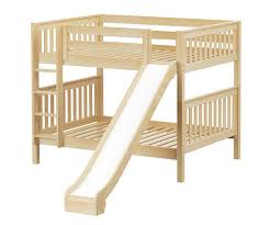 Maxtrix HIPHIP Medium Bunk Bed With Slide Bed Frames Matrix - Maxtrix bunk bed