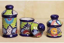 talavera canisters talavera poblana ceramic jar ceramic jars