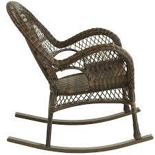 Rocking The Chair Santa Barbara Mocha Rocking Chair Pier 1 Imports