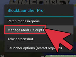 blocklauncher pro apk how to install mods on minecraft pe with pictures wikihow