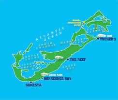 Puerto Rico Beaches Map by Go There Bermuda Grindtv Com