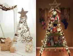 wohnzimmer weihnachtlich dekorieren wie sie eine leiter weihnachtlich dekorieren können rustikale