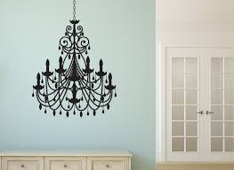 Chandelier Wall Decal Kitchen Wall Stickers And Wall Art For The Family Dining Area