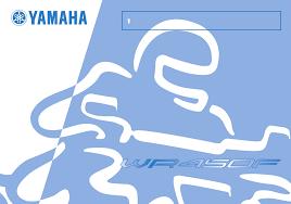 handleiding yamaha wr450f pagina 1 van 98 english