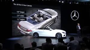 2018 mercedes e class cabriolet premier youtube