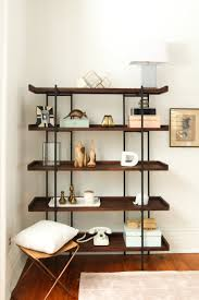 to style bookshelves layer by layer