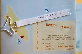wedding invitations island destination wedding in aruba