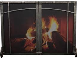 Free Standing Fireplace Screens by Fireplace Screens Ironhaus