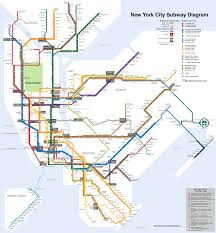 Manhattan Map Subway by File New York City Subway Map Svg Wikipedia