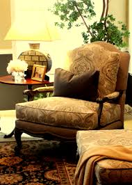 French Country Ottoman by Absolutely Love My Ethan Allen Harris Chair U0026 Ottoman Fabulous