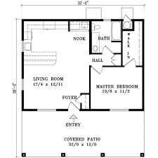 one bedroom one bath house plans floor plan design basement building villa apartment cabin