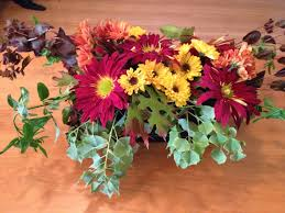 make fresh flower floral arrangements for thanksgiving big scout