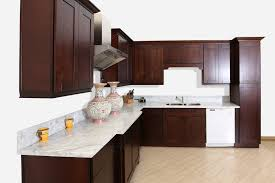 fascinating brown espresso kitchen cabinets features square shape
