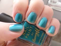 review barry m nail paint in teal u2013 chyaz