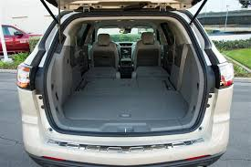 Most Interior Space Suv 12 Best Family Cars 2014 Chevrolet Traverse Kelley Blue Book