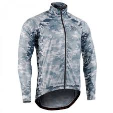 cycling windbreaker jacket flexfix grey camo fixgear flexible cycling windbreaker