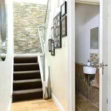 Downstairs Bathroom Decorating Ideas Stairs Bathroom Bathroom The Stairs Downstairs