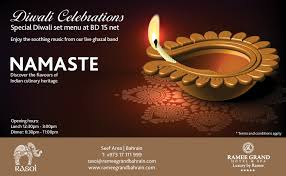 diwali celebration at rasoi events whatsupbahrain net