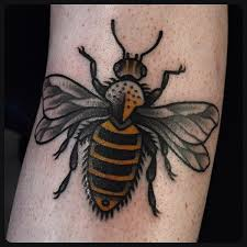 unique bee tattoo designs on hand tattoo ideas pictures tattoo