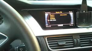audi a4 b8 mmi radio navigation defekt friert ein youtube